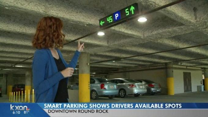 'Smart Parking' Headed to Downtown Round Rock