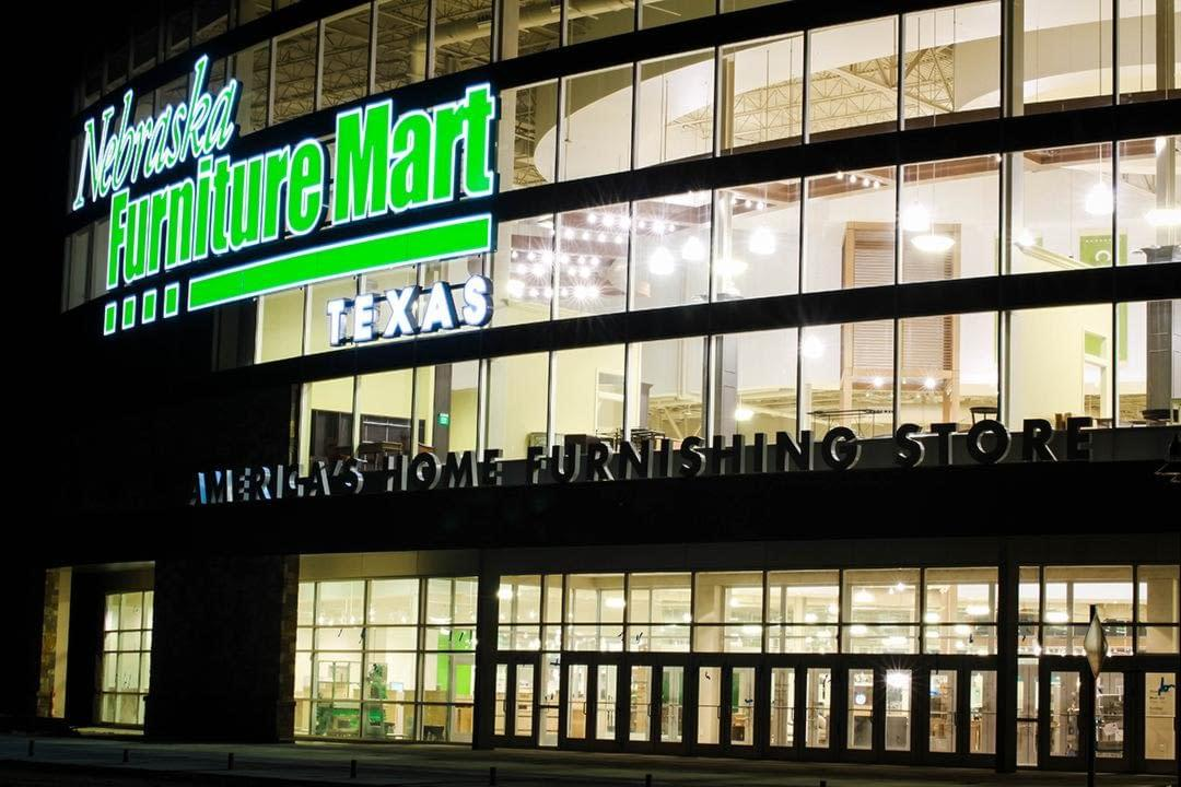 INDECT Parking Sensors Shine Bright at New Nebraska Furniture Mart in North Texas.