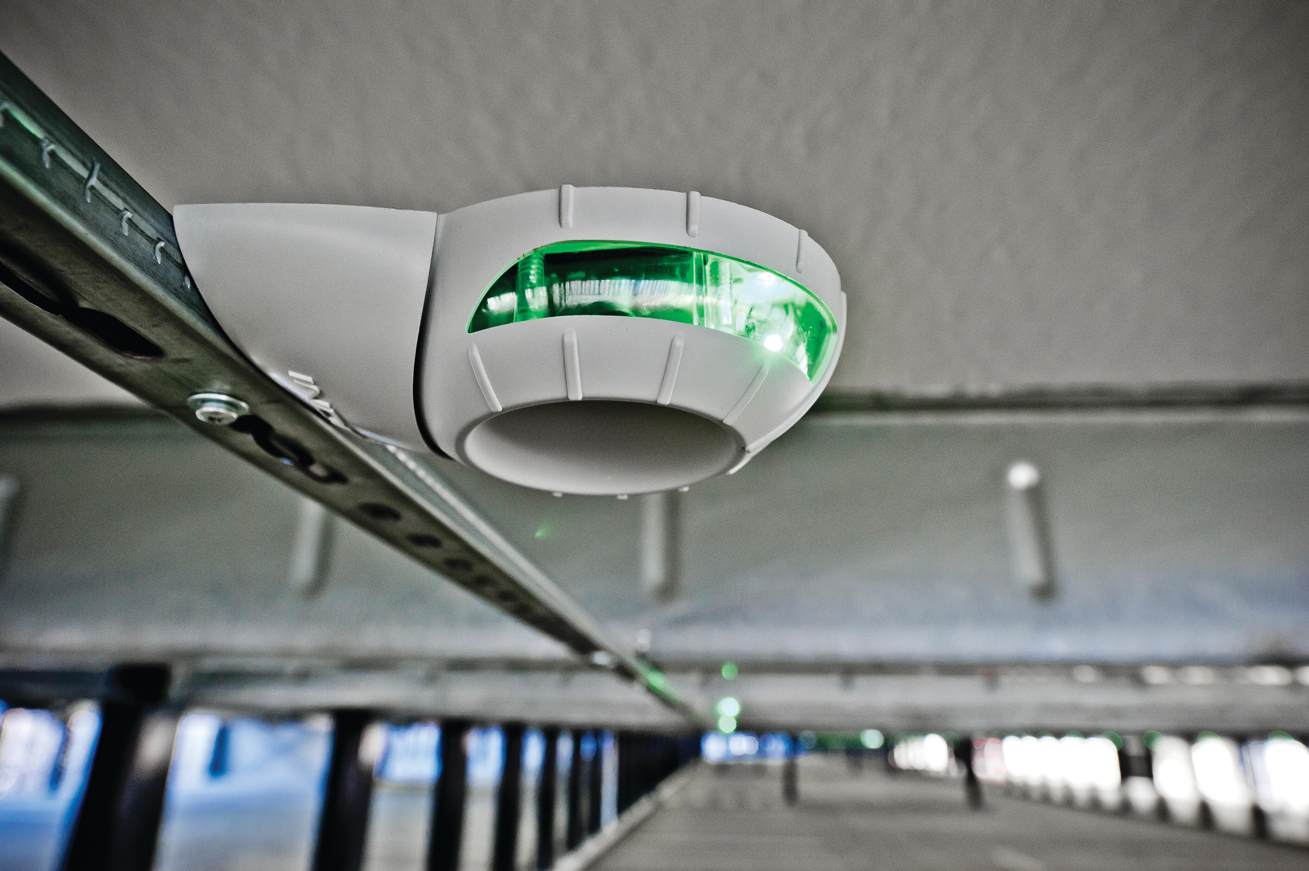INDECT's Ultrasonic Parking Guidance Remains King for Quick Installation and Minimal Maintenance