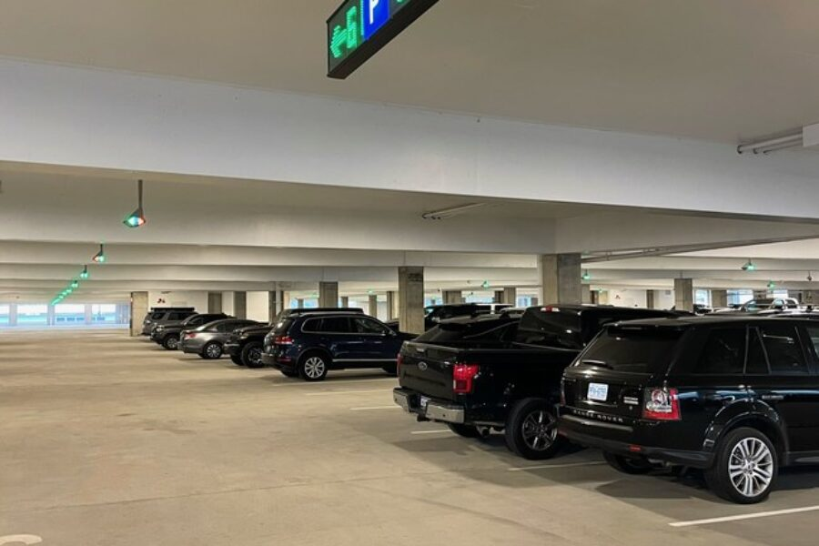 Charleston International Airport Debuts New Parking Garage Featuring Advanced Parking Guidance System Technology